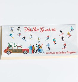 First Snow Tis The Season Greeting Card