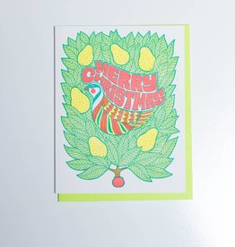 Lucky Horse Press Partridge in a Pear Tree Note Set of 6