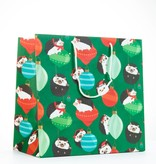 Waste Not Paper Holiday Hedgehog Large Bag