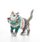 Cody Foster COFOR - MERRY MERRY CAT ORNAMENT