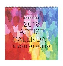 Waste Not Paper 2018 Artist Calendar 12x12