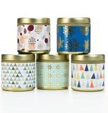 Paddywax Mistletoe + Mint candle tin
