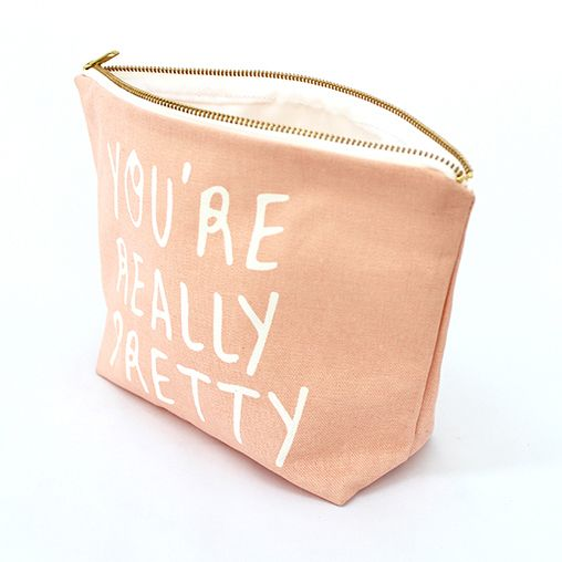 Zana You're Really Pretty Toiletry Travel Pouch