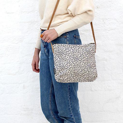 Zana Buzzed Crossbody Bag