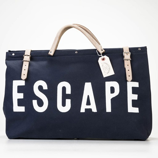 forestbound Navy ESCAPE Canvas Bag