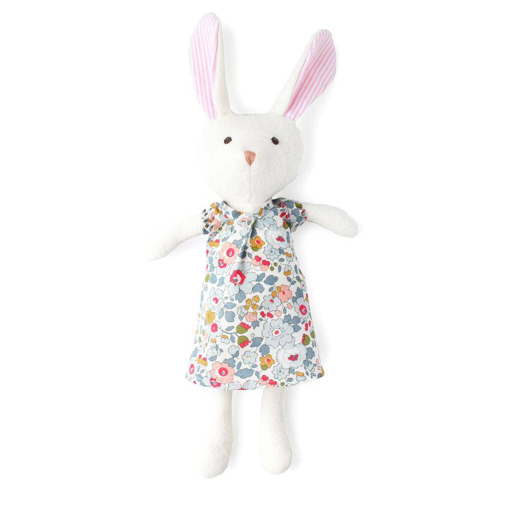 Hazel Village Emma Rabbit in Sweet Rose Dress