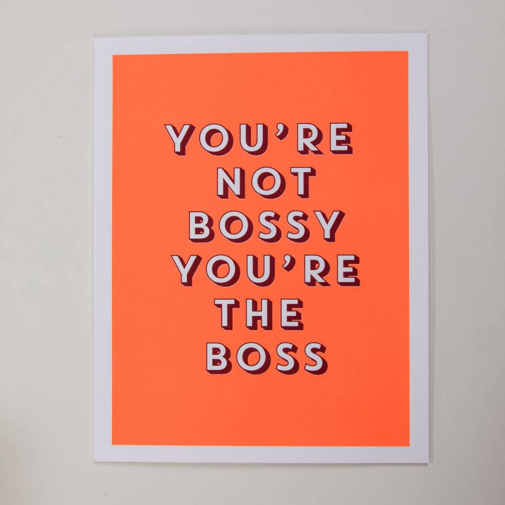 Anne and Kate Bossy Boss Art Print