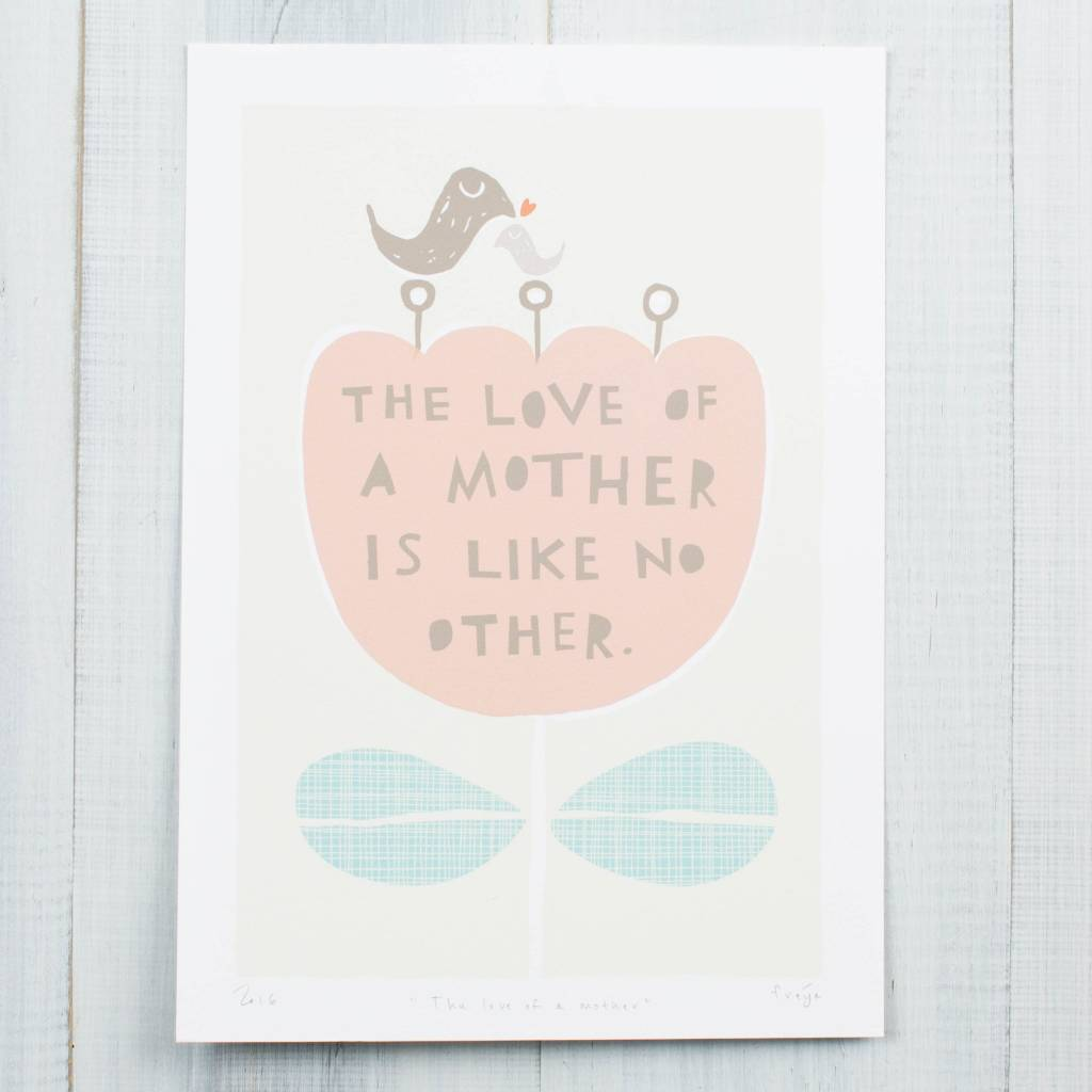 Freya Art The Love of a Mother Art Print