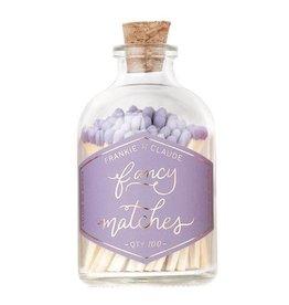 Frankie & Claude Lavender Matchstick Jar