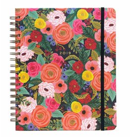 Rifle Paper Co. 2019 Juliet Rose Spiral 17-Month Agenda