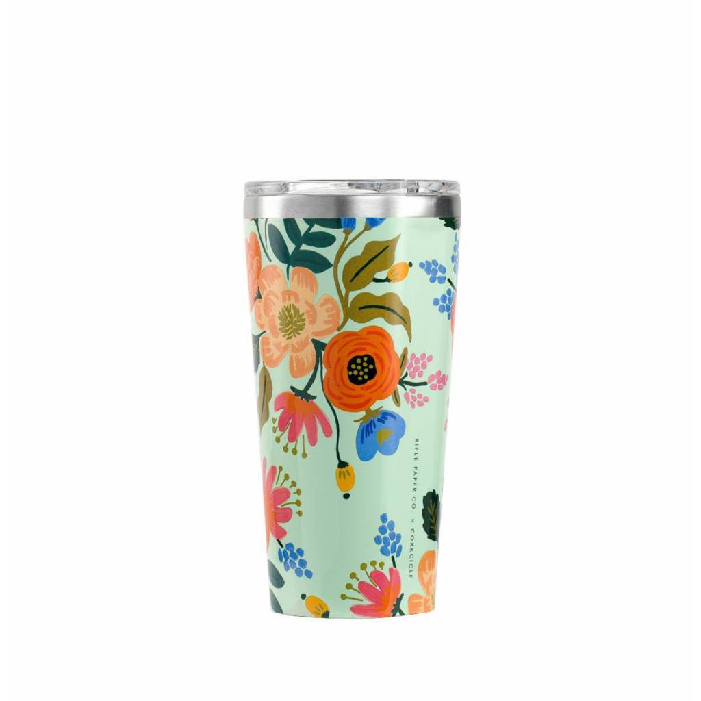 Corkcicle PRE-ORDER NOW! Rifle Paper Co. x Corkcicle Lively Floral Tumbler