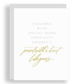Little Well Paper Co. Special Needs Parenthood Greeting Card