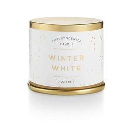 illume candles ILLCASM - Noble Holiday Winter White Demi Tin Candle