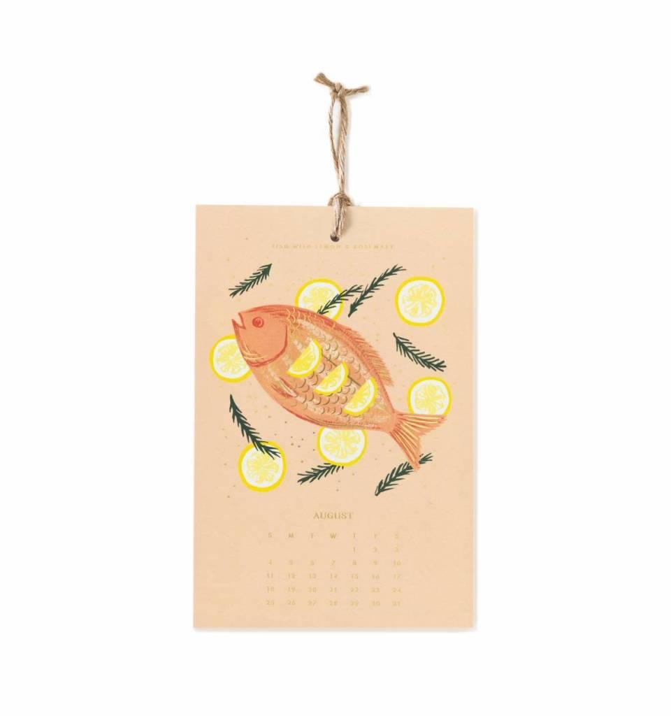 Rifle Paper Co. RPCAWA - 2019 Lemon Wall Calendar