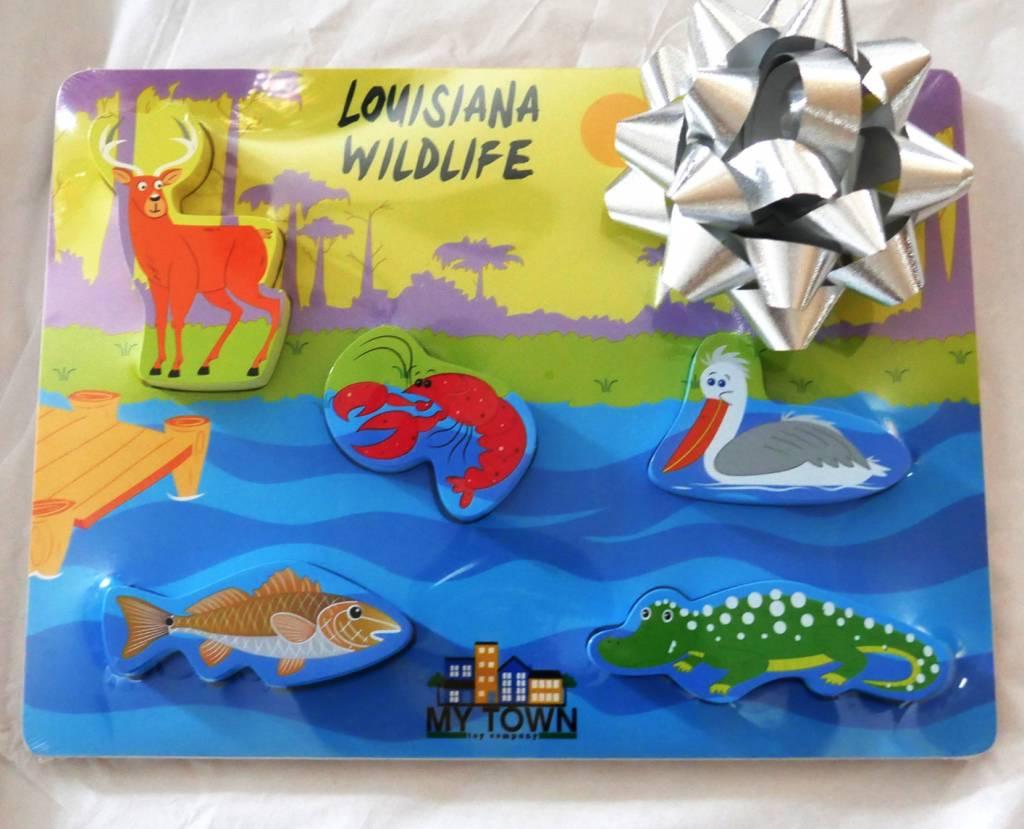 My Town Louisiana Wildlife Puzzle