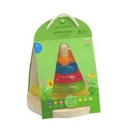 Green Sprouts Green Sprouts Rainbow Teether Tower