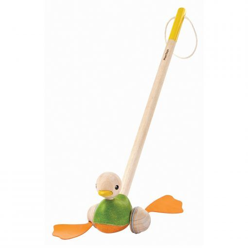 PlanToys Push Along Duck