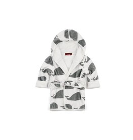 Milkbarn Organic Cotton Hooded Robe
