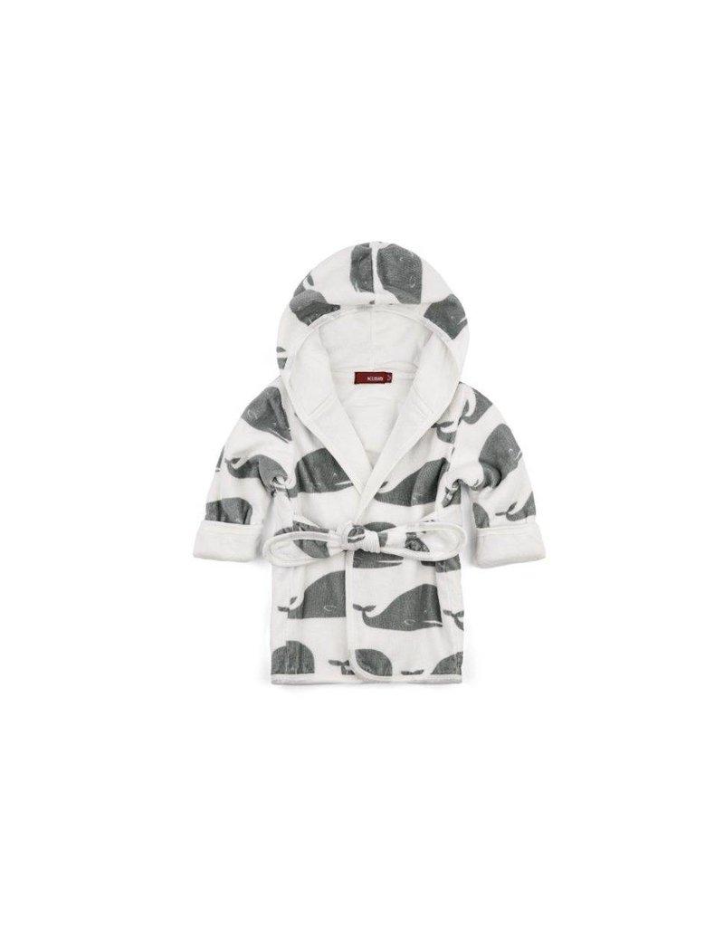Milkbarn Organic Cotton Hooded Robe