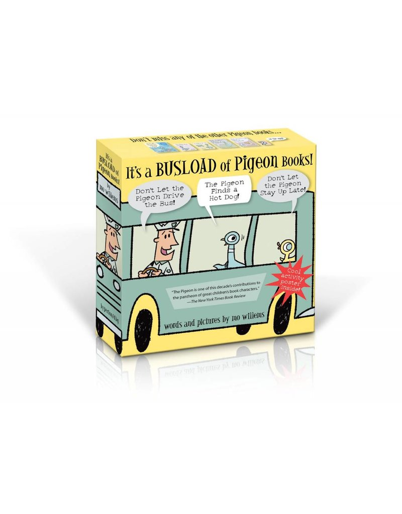 It's a Busload of Pigeons by Mo Willems