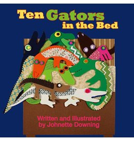 Books Ten Gators in The Bed