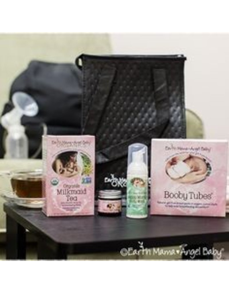 Earth Mama Angel Baby Milk-To-Go Pumping Essentials