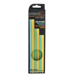Reusable Silicone Straws 6pk