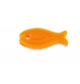 innobaby Silicone Fish Baby Bath Scrub