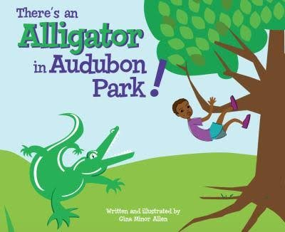 There's An Alligator in Audubon Park
