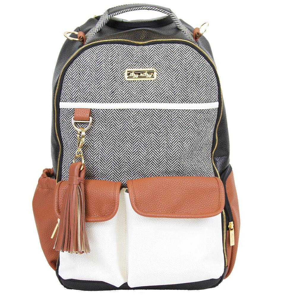 Itzy Ritzy Itzy Ritzy Diaper Bag Backpack in Coffee & Cream