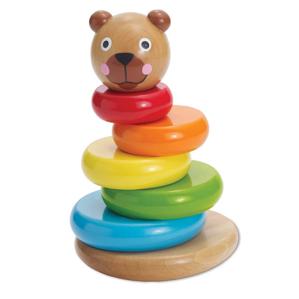 Manhattan Toys Brilliant Bear Magnetic Stack-up