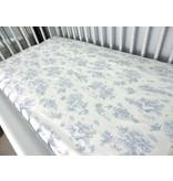Maison Nola Storyland Toile Oval Crib Sheet