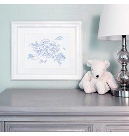 Maison Nola Storyland Mother Goose Print Blue