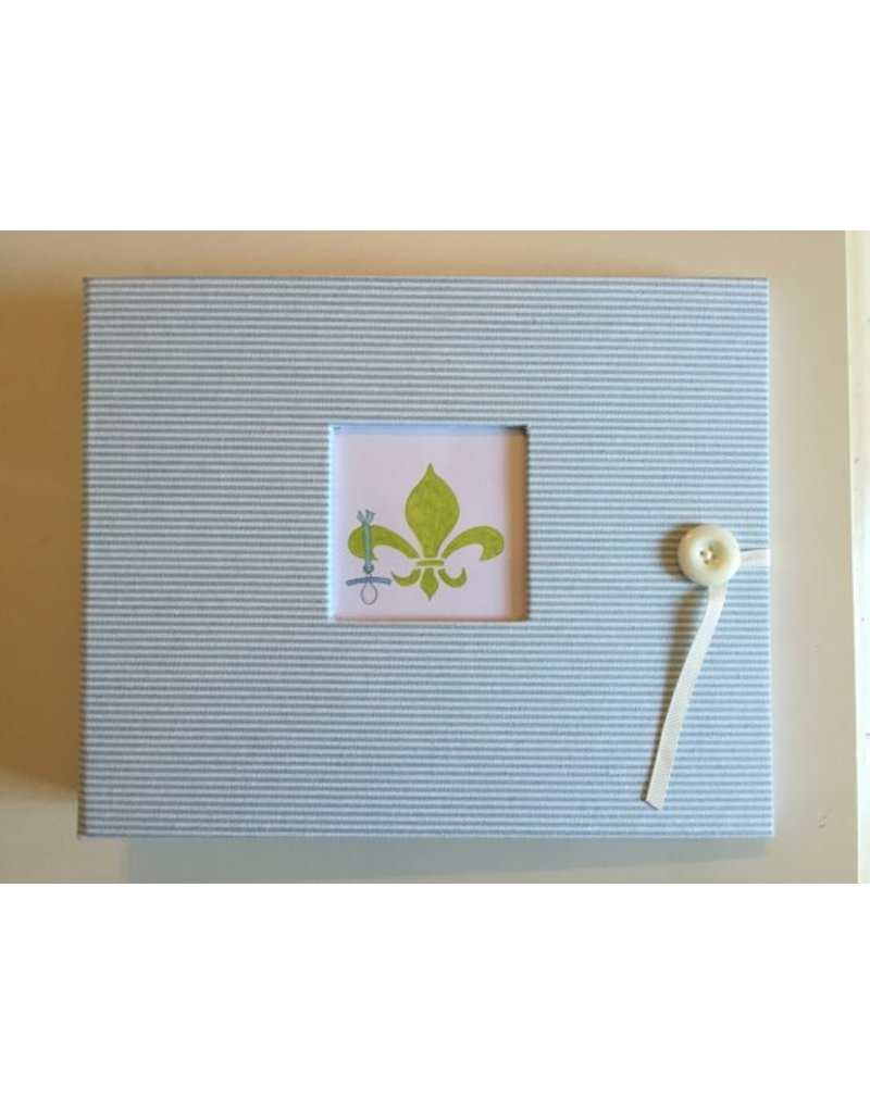 NOLA Baby Keepsakes Scrapbook
