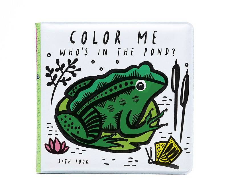Wee Gallery Color Me: Who's in the Pond? Bath Book