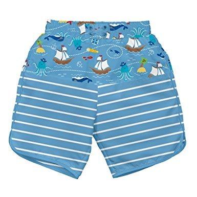 i play. Board Shorts w Built-in Diaper