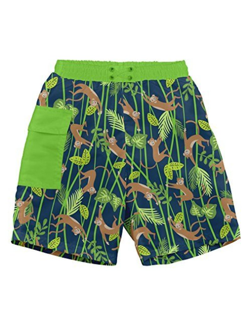 i play. Pocket Trunks with Built-in Swim Diaper