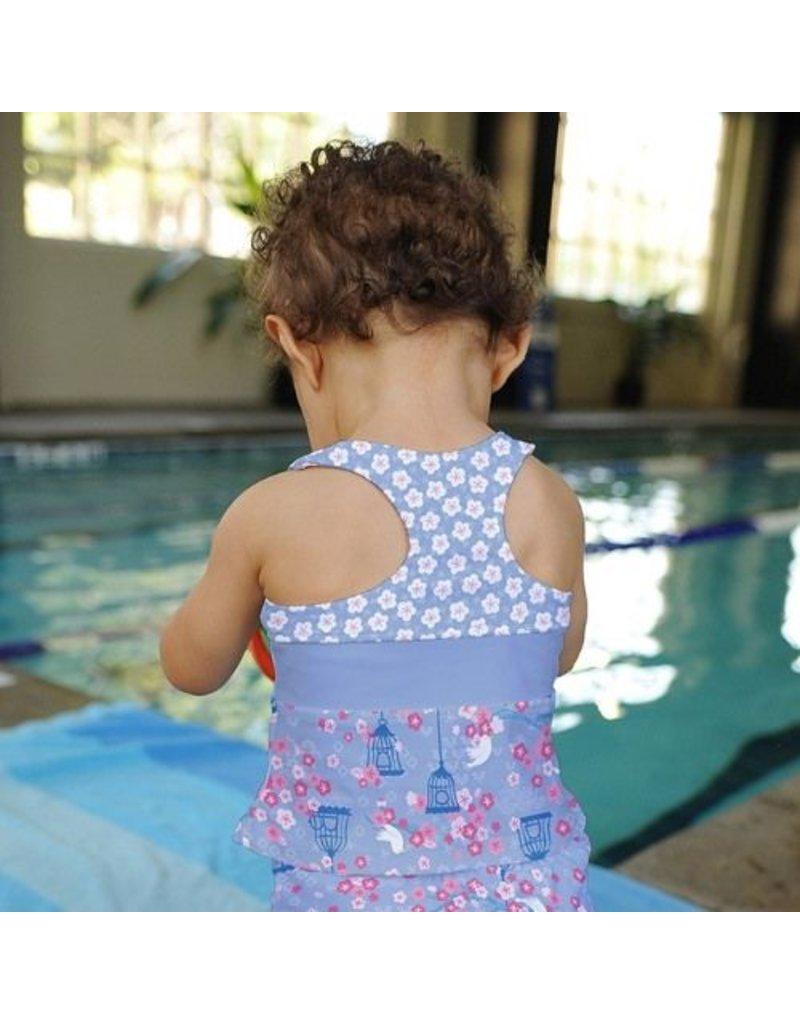 i play. Two Piece Bow Tankini with Swim Diaper