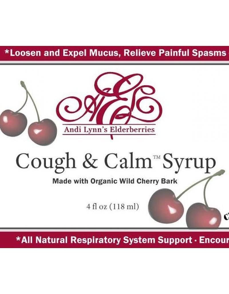 Andi Lynn's Andi Lynn's Elderberries Cough and Calm Syrup 4oz