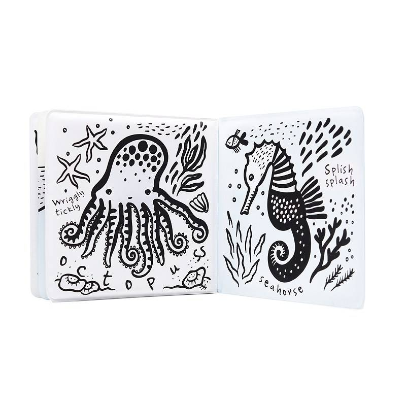 Wee Gallery Color Me: Who's in the Ocean? Bath Book