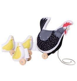 Manhattan Toys Farmer's Market Chicken Pull Toy