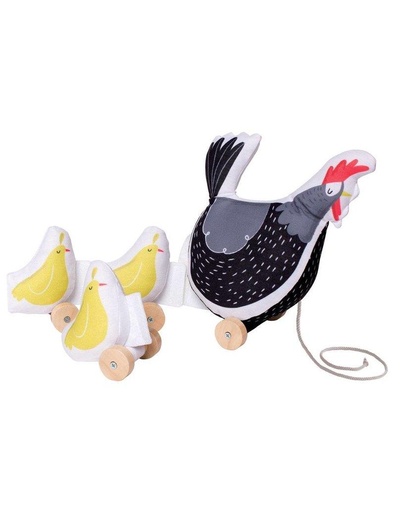 Farmer's Market Chicken Pull Toy