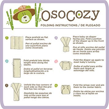 OsoCozy OsoCozy Organic Bamboo Prefold