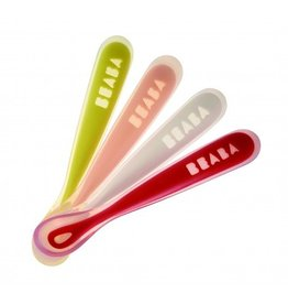 BEABA Silicone Spoon 4 Pack