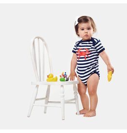 Bon Temps Boutique Bon Temps Crab Striped Onesie