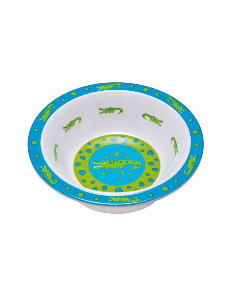 LASSIG Silicone Starter Bowl with Alligator
