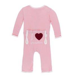 KicKee Pants KicKee Pants Coverall - I Love Grandma (Lotus)