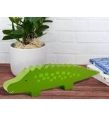 Pearhead Wooden Alligator Bank