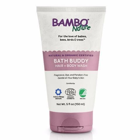 Bambo Nature Bath Buddy - Hair & Body Wash