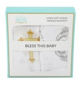 Little Hometown Swaddle Set - Bless This Baby